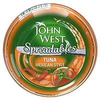 John West Spreadables Tuna Mexican Style, 80g
