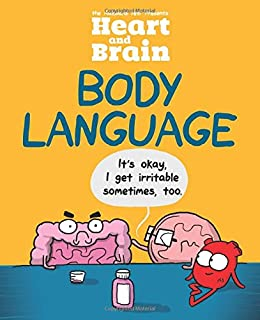 Book Cover: Heart and Brain: Body Language: An Awkward Yeti Collection
