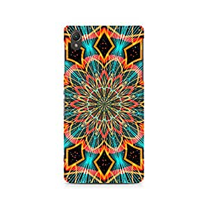 Mobicture Psychedelic Lotus Premium Printed Case For Sony Xperia Z5 Dual