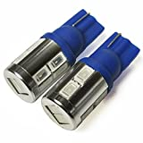 ヴォクシー 70系 ZRR70 ポジションランプ led T10 T16 10w サムスン製 ブルー 2個セット