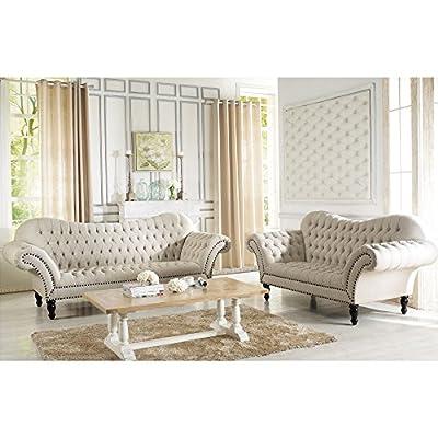 Baxton Studio Bostwick Fabric Sofa Set