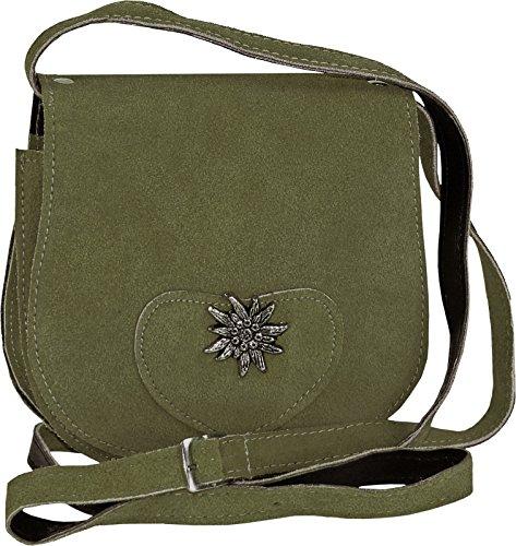 kleine-Trachtentasche-mit-Edelwei-Farbenoliv