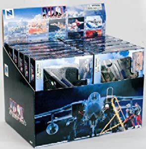 12 Assorted Snap Together Model Airplanes Jet Fighters 1-72 Scale