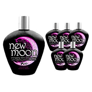 LOT 6 Rio New Moon Indoor Tanning Lotions TAN Enhancer Skin Firming Bronzer Bed