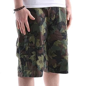 LRG Core Collection Classic Cargo Shorts - Men's ( sz. 28, Olive Camo )