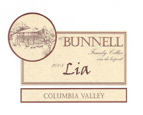 "2008 The Bunnell Family Cellar Columbia Valley ""Lia"" Blend-Red 750 Ml"
