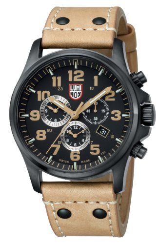 Luminox Atacama Field Chronograph Alarm Brown Watch 1945