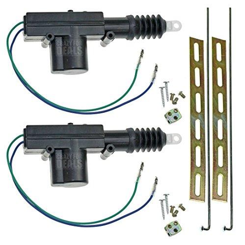 Power door lock for 12vdc door lock actuator