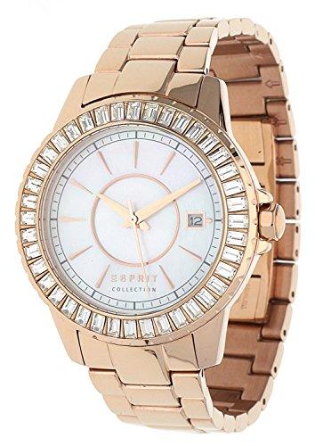 Esprit Collection Reloj de pulsera para mujer de oro rosa Eurybia EL102082F05