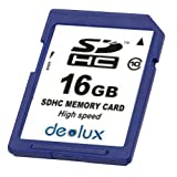 Deolux SDHC 16GB Class10 デオラックス クラス10
