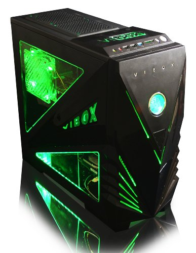 ordinateur de bureau vibox centre 4lw 4 0ghz amd quad core gamer gaming pc multim dia. Black Bedroom Furniture Sets. Home Design Ideas