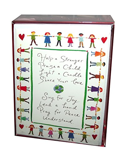 Graphique De France Help A Stranger Christmas Holiday Boxed Cards Bxcv52-Set Of 15