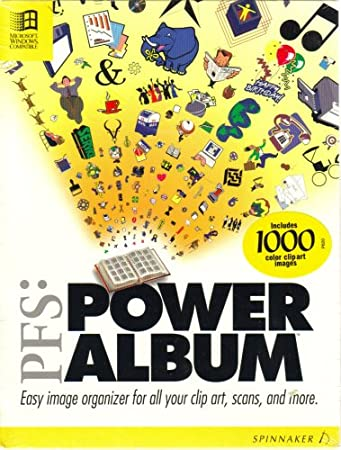 PFS: Power Album [ Version 1.03 ] { 3.5 inch Diskettes }(NOT Cd-Rom)