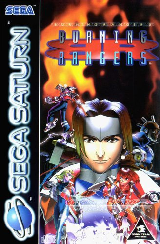 Burning Rangers - Saturn - PAL