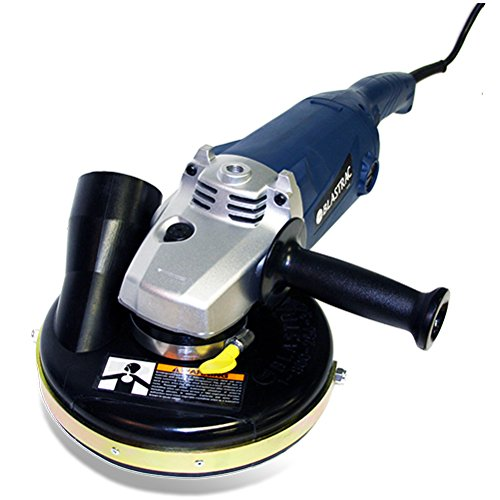 Blastrac 05-67000C Concrete Grinder Vacuum Assembly with convertible Shroud, 7