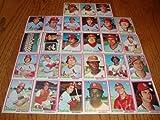 St Louis Cardinals 1978 Topps Baseball Team Set (28 Cards) (Lou Brock) (Keith Hernandez) (Ted Simmons) (Gerry Templeton) (Al Hranosky) (Bob Forsch) (Ken Reitz)