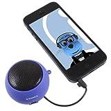 ITALKonline BLUE Rechargeable 3.5mm Capsule Speaker for Tesco Hudl
