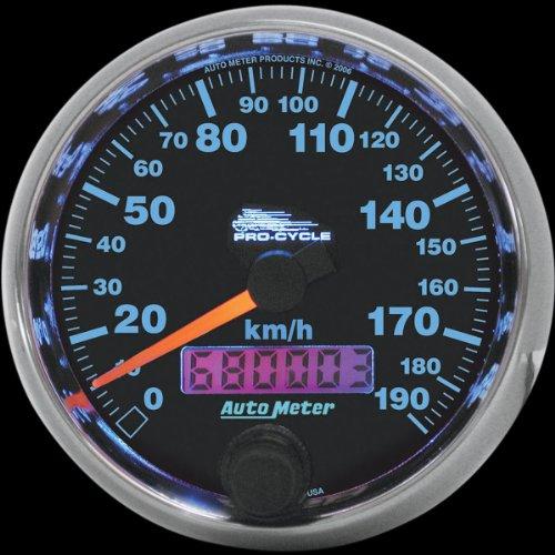 Auto Meter 2091 Prestige Series Black Diamond Tach//Speed Combo