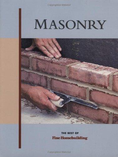 Masonry (Best Of Fine Homebuilding)