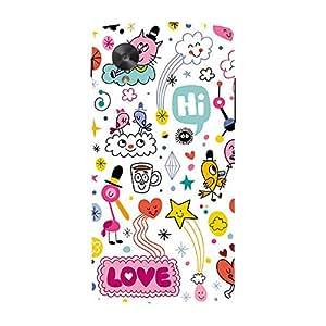 Garmor Designer Plastic Back Cover ForLG Nexus 5