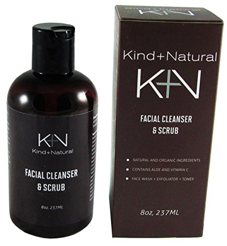 Men's Daily Power Scrub Facial Cleanser - 8OZ - Face wash, Toner and Scrub (Japanese Face Washer compare prices)