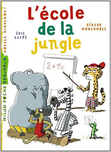 Gaspard, le léopard (10) : L'Ecole de la jungle