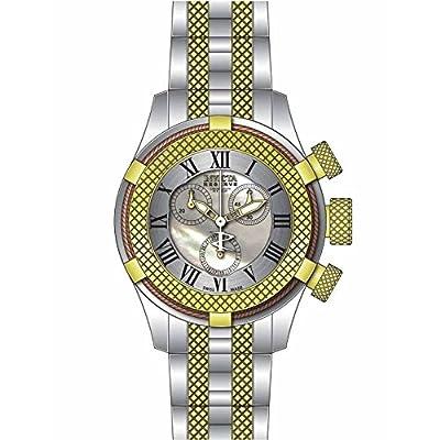 Invicta Women's 17430 Bolt Analog Display Swiss Quartz Two Tone Watch