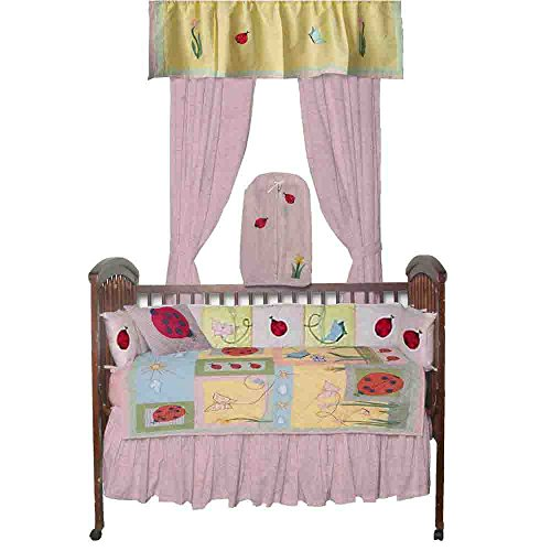 Patch Magic Lady Bug Crib Bedding