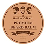 The Gentlemen's Premium Cedarwood Beard Balm - 2 OZ - Tame Your Beard With No Greasiness - Make It Look Thicker and Fuller