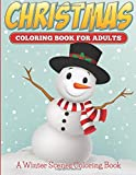Christmas Coloring Books For Adults: A Winter Scenes Coloring Book