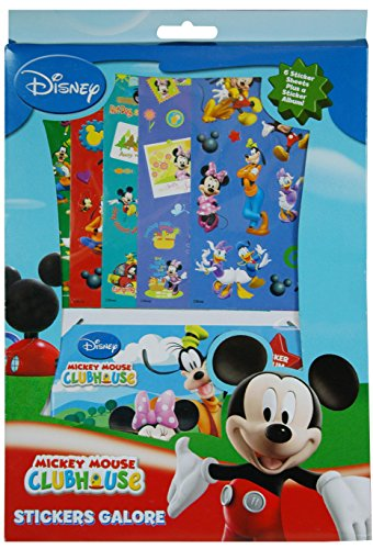 Disney Mickey Mouse and Friends Stickers Galore Sticker Sheets and Album