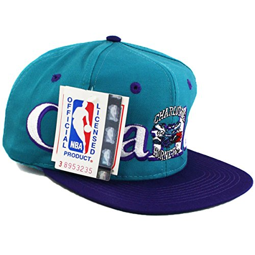 Vintage Charlotte Hornets Logo 7 Snapback Hat (Starter Hornets Snapback compare prices)