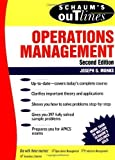 img - for Schaum's Outline of Operations Management 2nd (second) Edition by Monks, Joseph published by McGraw-Hill (1996) book / textbook / text book