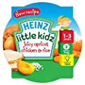 Heinz Mums Own Little Kidz Juicy Apricot Chicken and Rice Meal 230 g (Pack of 5)