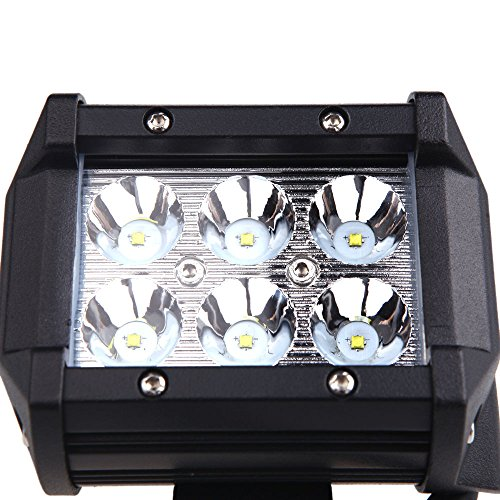 "Docooler® 18W 4"" X 6 Spot Beam 1620Lm Cree Led Work Light Lamp For Motorcycle Jeep Suv Atv Off-Road Truck"