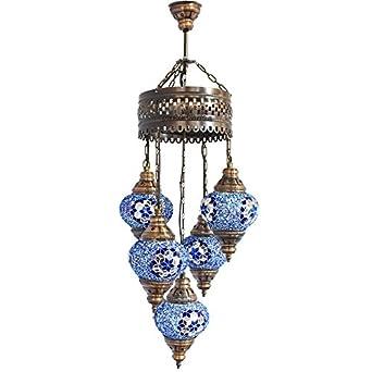 Chandelier, Ceiling Lights, Turkish Lamps, Hanging Mosaic Lights