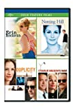 Erin Brockovich / Notting Hill / Duplicity / Charlie Wilsons War Four Feature Films