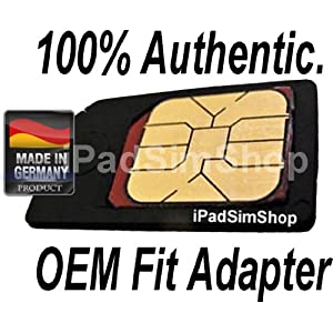 Pack Micro SIM card adapter iPad 3G and iPhone 4 2G 3G 3GS (Made in
