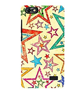 Stars Diamonds Christmas 3D Hard Polycarbonate Designer Back Case Cover for Huawei Honor 4C :: Huawei G Play Mini