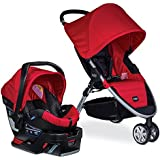 Britax B-Agile 3/B-Safe 35 Travel System, Red (Prior Model)