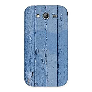 Blue Wood Wall Back Case Cover for Galaxy Grand