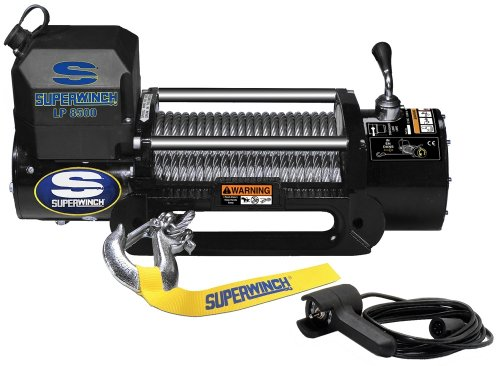 Purchase Superwinch 1585202 LP8500 Winch Gen II 12 VDC 8500lbs/3856kg, steel hawse, handheld remote