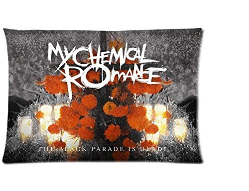 Cartrol My Chemical Romance Two Sides Rectangle Pillow Case 16X24 Inch front-890520