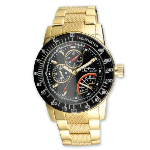 Daniel Steiger Men's 8094G-M Sportsmaster Gold Watch