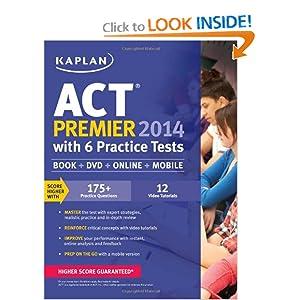 Kaplan ACT Prep Book