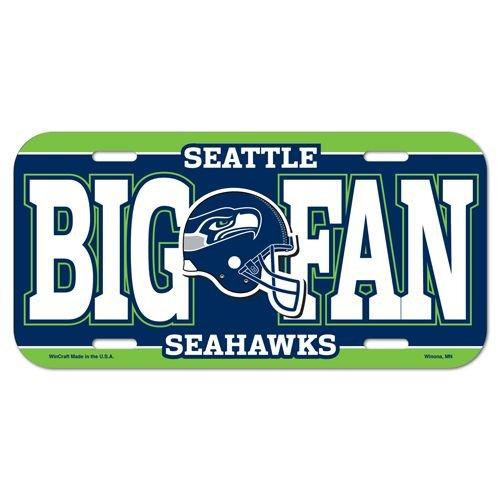 Seattle-Seahawks-Big-Fan-Plastic-License-Plate
