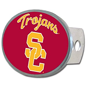 Buy NCAA USC Trojans Oval Hitch Cover by Siskiyou Sports