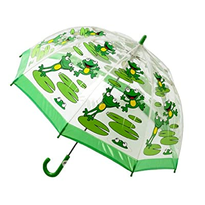Bugzz Clear PVC Umbrella (Frog Umbrella)