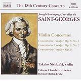 Saint-Georges/concertos