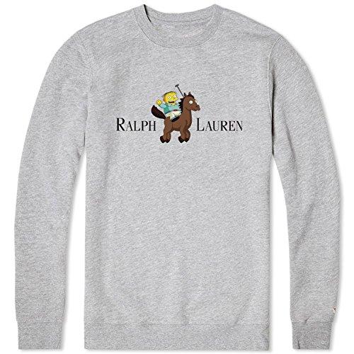Sweatshirt Crewneck Ralph Unisex Simpsons Simpson Jouet The Lauren GqpSzVUM